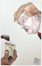 Cartoon: Venezuela blackout (small) by Christi tagged venezuela,blackout,trump