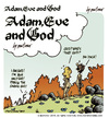 Cartoon: adam Eve and God 01 (small) by mortimer tagged mortimer mortimeriadas cartoon comic gag biblical adam eve god snake bible christian holy leaf sex love erotic hairy belly blonde flowers paradise eden original sin