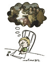Cartoon: The artist (small) by mortimer tagged mortimer,mortimeriadas,cartoon