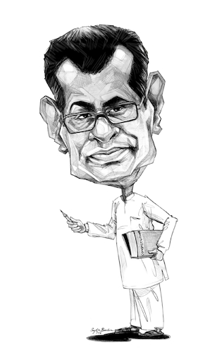 Cartoon: Patali Champika Ranawaka (medium) by Sajith Bandara tagged champika,ranawaka