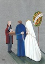 Cartoon: Violence (small) by menekse cam tagged violence,woman,stop,man,wedding,bride,groom,knife,clerk