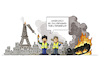 Cartoon: Gelbwesten (small) by Sven Raschke tagged frankreich,gelbwesten,gilets,jaunes,protest,demonstration,emanuel,macron