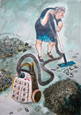 Cartoon: Mobile (small) by Goran Markovic tagged 200