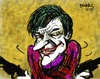 Cartoon: clown doodle (small) by bennaccartoons tagged joker,clown,doodles