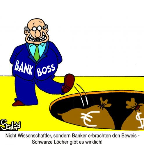 Cartoon: Banker sind genial! (medium) by Karsten tagged business,märkte,aktien,börse,banken,handel,wirtschaft