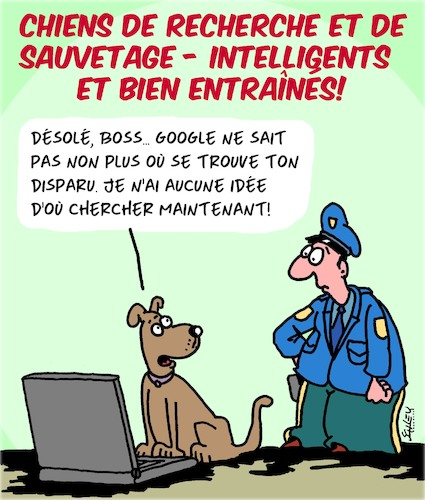 Cartoon: Chiens de Secours (medium) by Karsten tagged urgences,police,medical,sauvetage,animaux,chiens,urgences,police,medical,sauvetage,animaux,chiens