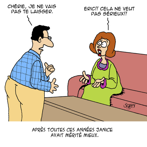 Cartoon: Serieux (medium) by Karsten tagged amour,hommes,femmes,mariage,relation,separation,amour,hommes,femmes,mariage,relation,separation