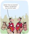 Cartoon: Chasseurs (small) by Karsten tagged animaux,armes,mort,chasseurs,environnement