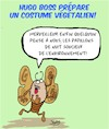 Cartoon: Costume vegetalien (small) by Karsten tagged mode,vetements,business,economie,environnement