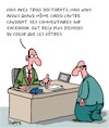 Cartoon: Demandes (small) by Karsten tagged applications,employeurs,employes,carriere,directeurs