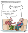Cartoon: Insultes (small) by Karsten tagged debats,logique,langue,education,insultes,culture,psychologie