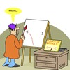 Cartoon: Jeder kann malen (small) by Karsten tagged malen,maler,kunst,kultur,freizeit,hobby