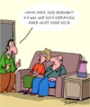 Cartoon: Keine Angst! (small) by Karsten tagged familien,eltern,kinder,geld,alter