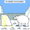 Cartoon: Kommunikation (small) by Karsten tagged tiere,natur,eisbären,eis,kommunikation,polarkreis,wetter,klima,umwelt