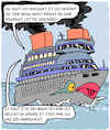Cartoon: La Crosiere (small) by Karsten tagged environnement,tourisme,business,pollution,animaux,oceans