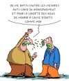 Cartoon: Liberte!! (small) by Karsten tagged covid19,politique,gouvernement,sante,liberte,manifestations
