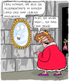 Cartoon: Lieblich (small) by Karsten tagged märchen,literatur,filme,medien,fake,news,monarchie,frauen,geschichte,gesellschaft,europa,deutschland