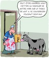 Cartoon: Memoire (small) by Karsten tagged memoires,animaux,nutrition,industrie,mariage