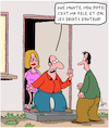 Cartoon: Mon pote (small) by Karsten tagged famille,filles,papas,amis,relations