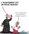Cartoon: Peche!! (small) by Karsten tagged religion,pretres,catholiques,eglise,crime,maltraitance,des,enfants