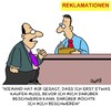 Cartoon: Reklamation (small) by Karsten tagged kundenservice,business,kunden,jobs,service,verkäufer,verkaufen,reklamationen,schadenersatz,verbraucherschutz,gesellschaft,deutschland