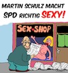 Cartoon: Sexy Schulz (small) by Karsten tagged politik,wahlen,spd,schulz,deutschland,demokratie