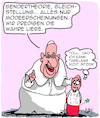 Cartoon: Vatikan und Gender... (small) by Karsten tagged vatikan,mittelalter,papst,gender,religion,gleichstellung,chauvinismus,kirche,katholizismus,kindesmissbrauch,sex