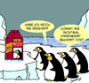 Cartoon: Vermisst! (small) by Karsten tagged tiere,pinguine,natur,arktis