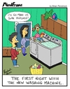 Cartoon: MINDFRAME (small) by Brian Ponshock tagged washing,machine,dryer,appliances