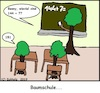 Cartoon: Baumschule (small) by Amokkritzler tagged baumschule