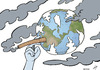 Cartoon: Pollution cancer (small) by rodrigo tagged pollution,health,environment,air,water,forest,urban,human,industry,co2,disease