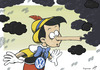 Cartoon: Volkslügen (small) by rodrigo tagged us,usa,auto,volkswagen,environment,pollution,emissions,co2,pinocchio,lies