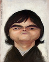 Cartoon: Samuel Rosa (small) by alvarocabral tagged caricature