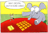 Cartoon: Memory (small) by Yavou tagged elefant,maus,ratte,memory,spiel,spielen,cartoon,yavou
