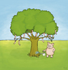 Cartoon: Schlauer Pinky (small) by Yavou tagged arbre salsiccia saucisse salsicha kartunz yavou sausage wurst tree baum schwein pig schlaraffenland früchte frucht sau porc maiale cerdo porco