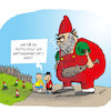 Cartoon: Gartenzwerge (small) by ichglaubeshackt tagged gartenzwerg,trottel