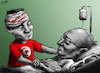 Cartoon: Sorrowful Day for Tunisia (small) by cartoonistzach tagged tunisia,tunis,bombing,essebsi,president