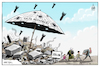 Cartoon: IDLIB AGREEMENT ! (small) by Mikail Ciftci tagged dlib,syria,war,russia,refugee