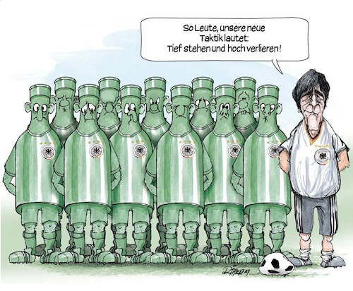 Cartoon: DFB-Flaschen (medium) by Ritter-Karikaturen tagged ritter,karikaturen
