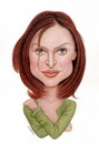 Cartoon: Calista Flockhart (small) by Gero tagged caricature