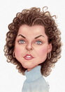 Cartoon: Keri Russell (small) by Gero tagged caricature