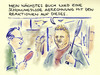 Cartoon: Beckerbuch (small) by Bernd Zeller tagged boris,becker,tennis,buch,bücher,autor,biografie,buchmesse