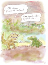 Cartoon: Evolution (small) by Bernd Zeller tagged evolution