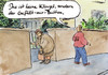 Cartoon: like (small) by Bernd Zeller tagged facebook,klingel,button,knopf,internet,web,kommunikation,netzwerk