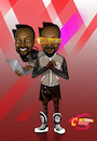 Cartoon: Rapper Will-I-am (small) by Marycaricature tagged the,voice,black,eyed,peas,cartoon,rapper