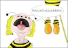 Cartoon: Insektensterben (small) by Fish tagged insektensterben,umwelt,natur,bienen