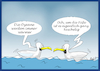 Cartoon: Ozeane werden wärmer (small) by Fish tagged ozean,meer,meere,klimawandel,umweltverschmutzung,klima,erderwärmung,erwärmung,temperaturanstieg,möve