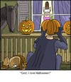 Cartoon: Headless (small) by noodles tagged halloween,headless,horseman,pumpkin,pervert,horse