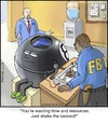 Cartoon: Magic 8 Ball (small) by noodles tagged magic,ball,fbi,lie,detector,noodles,interrogation