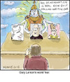 Cartoon: Reincarnation (small) by noodles tagged reincarnation,larson,noodles